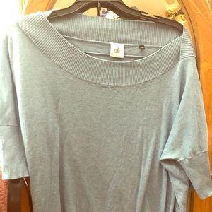 CAbi light blue sweater